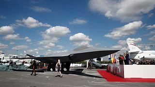 ماکت نسل جدید جنگنده اروپایی