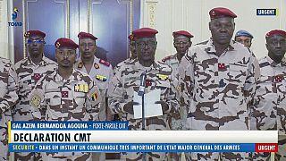 La junte militaire au pouvoir au Tchad