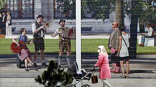 München an diesem Montag - an dem das Oktoberfest abgesagt wurde