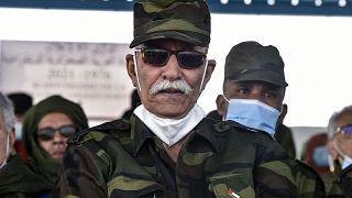 الأمين العام لجبهة بوليساريو ابراهيم غالي