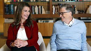 Melinda und Bill Gates 2018