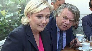 Marine Le Pen et Gilbert Collard en juin 2017