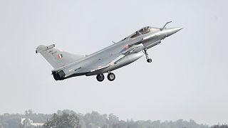 Fransız yapımı Rafale savaş uçağı / Arşiv