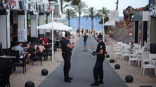 Polizisten in Magaluf