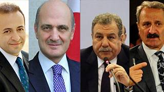 Egemen Bağış, Erdoğan Bayraktar, Muammer Güler, Zafer Çağlayan