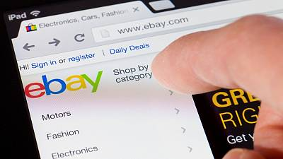 Ebay could soon accept cryptocurrencies as payment.