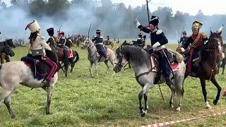 Schlacht bei Borodino, nachgestellt