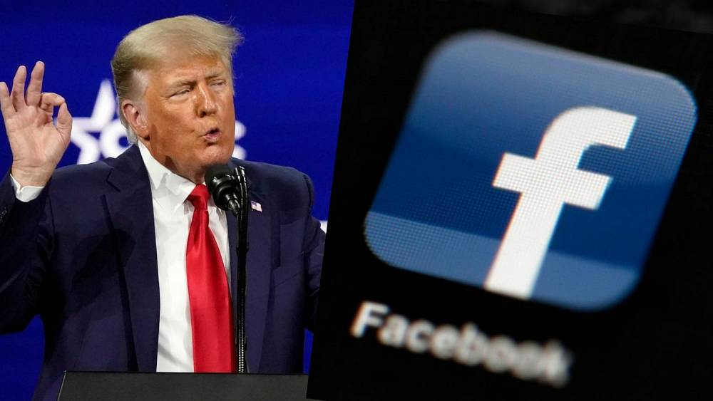 Donald Trump's account on Facebook remains suspended