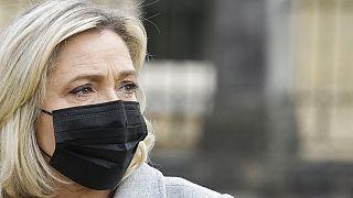 Ulusal Birlik Partisinin (RN) lideri Marine Le Pen