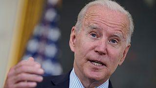 Presidente Joe Biden discursa sobre a Covid-19 na Casa Branca