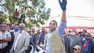 """We need free and fair elections"" - Zambia's opposition leader Hakainde Hichilema"