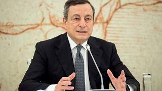 Mario Draghi a G20 országcsoport turisztikai minisztereinek találkozójának megnyitóján