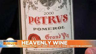 The Petrus 2000 wine tastes, smells and looks different after year in space.