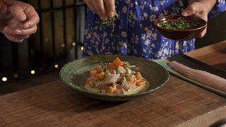 مزهای از دُبی: «سویچه» دریاییِ سرآشپز سندوال در رستوران غذاهای آمریکای لاتین