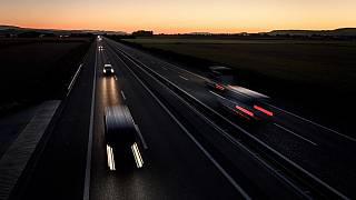 Cars are limited to 120 km/h on Swiss motorways, such as this one near Payerne.