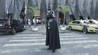 'Darth Vader' encourages Brazilians to get Covid-19 vaccine