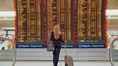 Frequent air travel benefits a small section of the world's population at a huge environmental cost