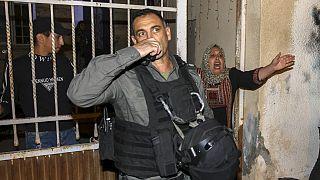 درگیری ماموران اسرائیلی با تظاهرکنندگان فلسطینی در شرق بیتالمقدس