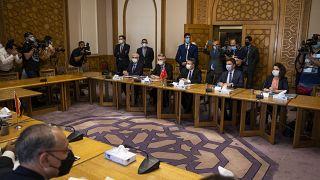 Türk ve Mısır heyeti Kahire'de görüşüyor