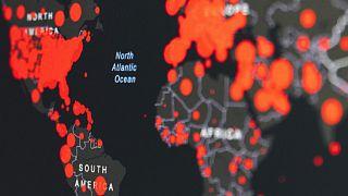 Salgın haritası