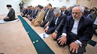 دیدار رهبر ایران با هیئت دولت در شهریور سال ۱۳۹۶