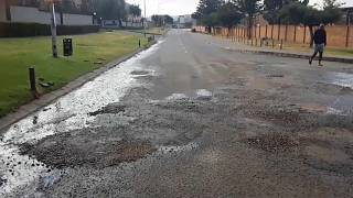 South Africans decry poor state of roads