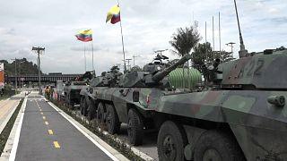 La presión aumenta en Colombia tras una semana de protestas