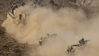 Tavalyi fotó: izraeli hadgyakorlat a Golán fennsíkon, a szíriai határ közelében