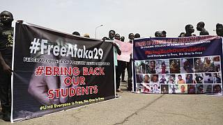 Nigerian President confirms 30 kidnapped college students freed