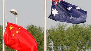 تنش میان استرالیا و چین