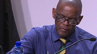 South Africa's ruling party ANC suspends secretary general Ace Magashule