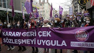 İstanbul Sözleşmesi'nden çekilme kararına tepkiler
