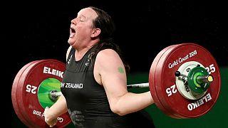 لورل هوبارد، وزنهبردار نیوزیلندی