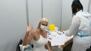 Serbia Vaccination Malls