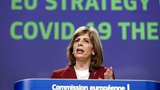 Avrupa Birliği (AB) Komisyonu'nun sağlıktan sorumlu üyesi Stella Kyriakides