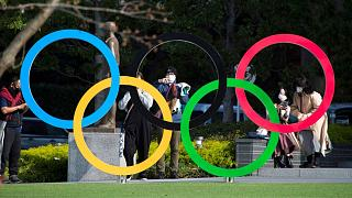 نماد مسابقات المپیک در شهر توکیو