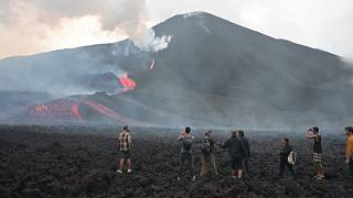 Pacaya volcanic activity