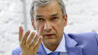 Павел Латушко, экс-министр культуры и посол во Франции, в Минске 18 августа 2020 года