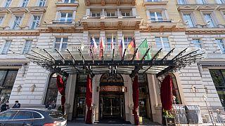 هتل محل برگزاری مذاکرات هستهای ایران ��ر وین