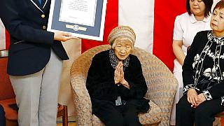 118 yaşındaki Kane Tanaka