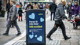 Fußgängerzone in Uppsala