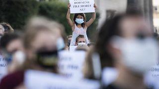 Copenhagen, 15 settembre 2020: manifestazione di solidarietà con i migranti