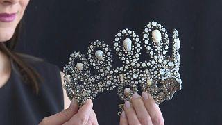 مجوهرات ملكية في مزاد بجنيف، سويسرا