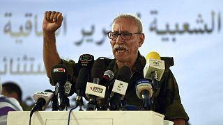 زعيم جبهة بوليساريو إبراهيم غالي