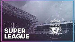 """Capture d'écran du site de la """"Super League"""""""