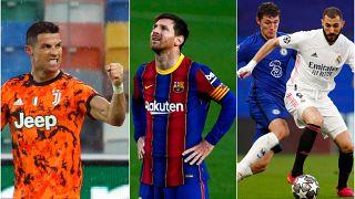 Barcelona, Real Madrid ve Juventus 'Süper Lig' projesini devam ettireceklerini duyurdu.