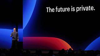 Mark Zuckerberg előadást tart San Josében (2019)