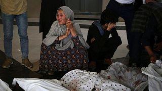 اجساد قربانیان انفجار کابل