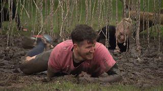 Mud Masters event in the Haarlemmermeer