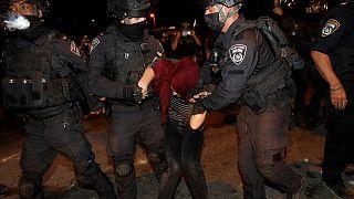 Las fuerzas de seguridad israelíes practicaron numerosas detenciones